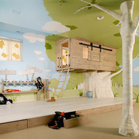 Cool Interior Tree Home: Best Kids Bedroom Design Ever | Designs & Ideas on Dornob