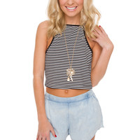 Ryder Striped Crop Top