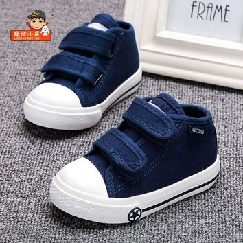 LABIXIAOXING Baby White Canvas Shoes 4 Colors kids Baby Girls and Boys Casual Shoes Fl