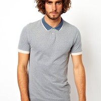 Paul Smith Jeans Oxford Polo Shirt at asos.com