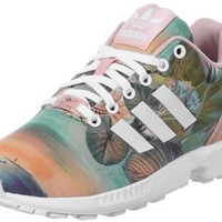 Adidas ZX Flux W shoes pink orange