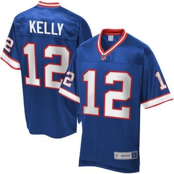 Men's NFL Pro Line Buffalo Bills Jim Kelly Retired Player Jersey