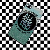 All Time Low Logo iPhone 4, iPhone 4S, iPhone 5, Samsung Galaxy S3, Samsung Galaxy S4 Case