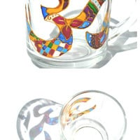 Hand Painted Mug - Om - Unique Artistic Gift - Dinner - Parties- cup