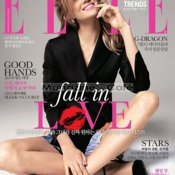 Buy Elle Korea Magazine Subscription | Buy at Magazine Cafe - Single Issue & Subscription Specialist in USA