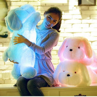 Choice of 60cm Light Up LED Jumbo Plush Doggie Pillows Toy