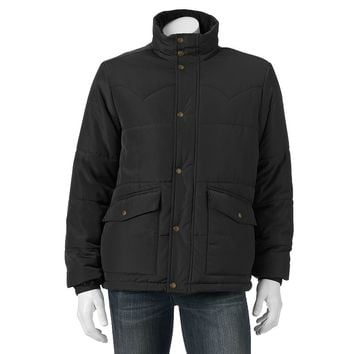 Chaps Quilted Puffer Jacket