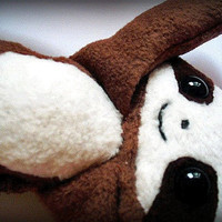 Cedric the baby sloth  Magnetic Plushie  by Plusheeze on Etsy