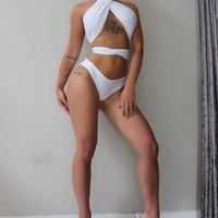 THE AVIANA BIKINI WHITE