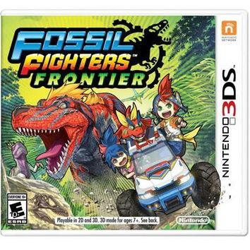 Fossil Fighters Frontier 3DS Video Game