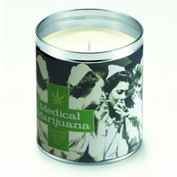 Medical Marijuana Nurses Candle