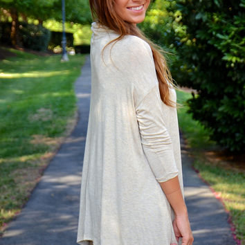 True Match tunic, taupe