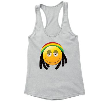 1e5565bbf6bb4 XtraFly Apparel Women s Rasta Emoji Reggae High Novelty Gag Race
