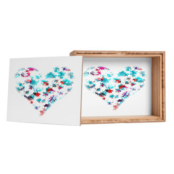 Aimee St Hill Floral Heart Jewelry Box