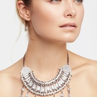 Noelle Crystal Collar Necklace