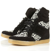 ACROBATICS Print Wedge Hi Tops - Flats  - Shoes
