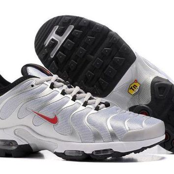 DCCKL8A Jacklish Nike Air Max Plus Silver Bullet Metallic Silver/varsity Red-black-white For Sale