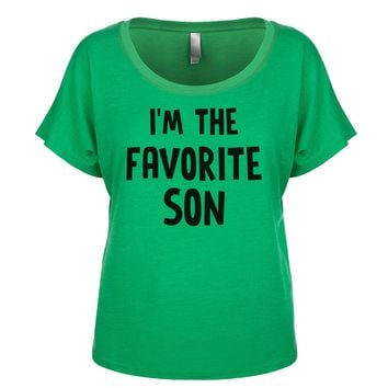 I'm The Favorite Son Women's Dolman