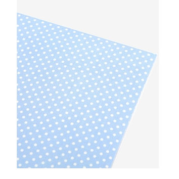 Deco fabric sticker 1 sheet A4 size - Skyway dot