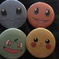Pokemon Button Set