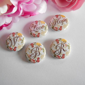 3pcs Pin Back Button