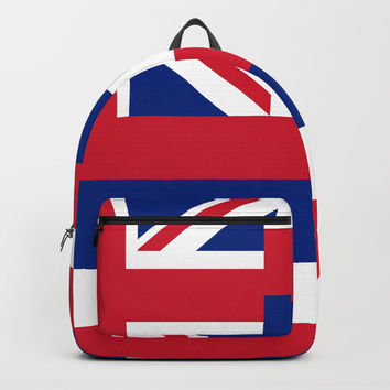 flag of hawai,america,usa,Aloha State, Paradise of the Pacific, Hawaiian,oceania,Honolulu,Maui,Oahu, Backpacks by oldking