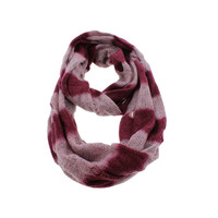 Steve Madden Womens Cut-Out Decorative Infinity Scarf