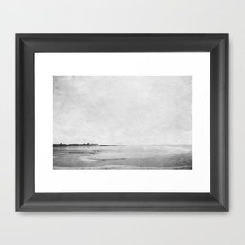 The Beach  Framed Art Print by secretgardenphotography [Nicola] | Society6