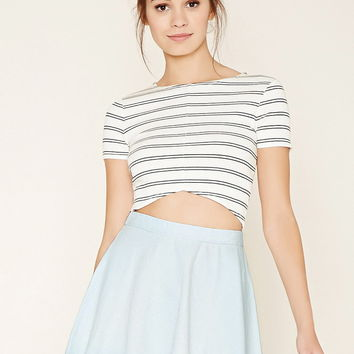 Denim Skater Skirt | Forever 21 - 2000177188