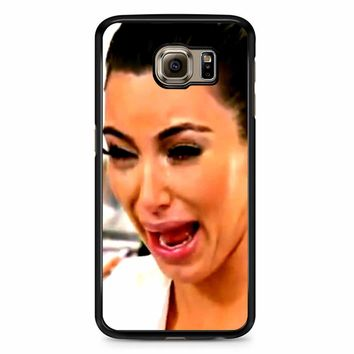 Kim Kardashian Crying Samsung Galaxy S6 Edge Plus Case