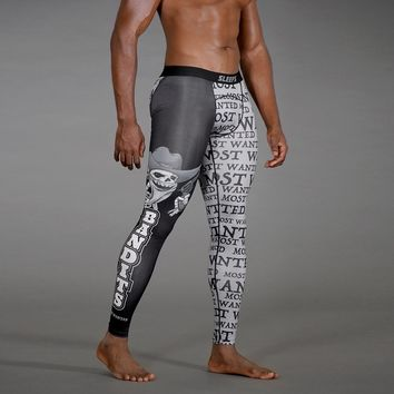 Bandits Black Tights for Men