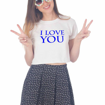 logo Youtube For Womens Crop Shirt ***