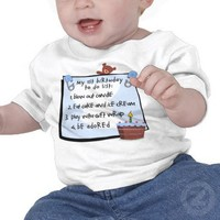 1st Birthday To Do's Blue Tee Shirts from Zazzle.com