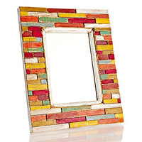 One Kings Lane - Chic Boutique - 5x7 Slat Wood Picture Frame
