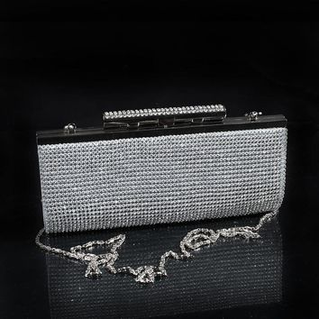 Handbags Direct Selling Hot Sale Minaudiere Evening Bags Unisex Handbag 2015 Shining Glass Drilling Banquet, The Bride Bag, Bag