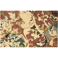Safavieh Soho Floral Rug - 3'6'' x 5'6'' (Red)