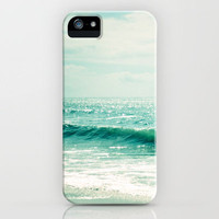 Sea of Tranquility... iPhone Case by Lisa Argyropoulos | Society6