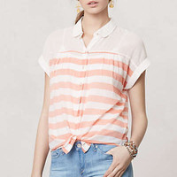 Anthropologie - Tie-Front Perpignan Top