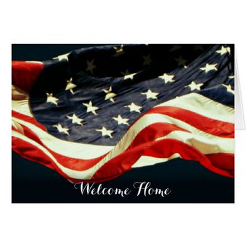 Welcome Home! & Thank You -Military Greeting Card