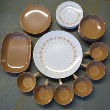 31 peiece set, Texas Ware by PMC, Mid-Century, 60s.