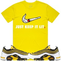 Nike Air Max Frequency Pack Bumble Bee Sneaker Tees Shirt - SWOOSH PG