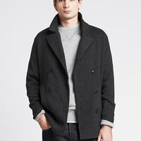 Banana Republic Mens Heritage Peacoat Sweater