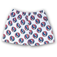 Grateful Dead - Steal Your Face White Boxers