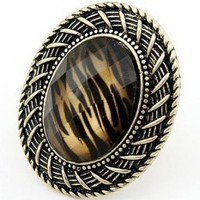 # Free Shipping # Zebra Stripe Precious Stone Rings HSP40702 from ViwaFashion