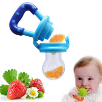 Portable Infant Food Baby Nipple Feeder Silicone Pacifier Fruits Feeding Supplies Soother Nipples Soft Baby Feeding Tool Bebe