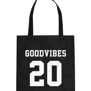 Good Vibes 20 Tote Bag