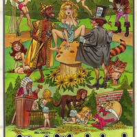 Alice in Wonderland 11x17 Movie Poster (1976)
