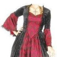 Marie Antoinette colonial renaissance saloon pirate Large costume polyester pink 18 Only Female | topcostumestore - Clothing on ArtFire