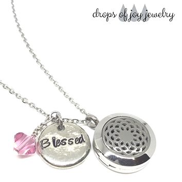 Custom Infinity Diffuser Necklace