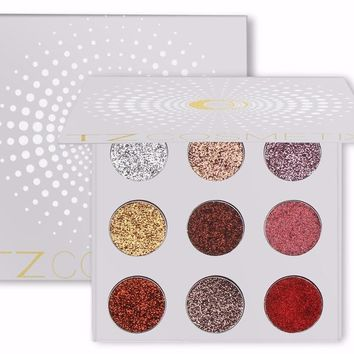Rainbow Diamond Glitter Eye Shadow Palette